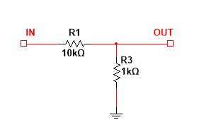 Voltage Divider Example 1